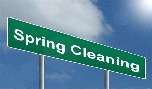 spring cleaning for the new tax year